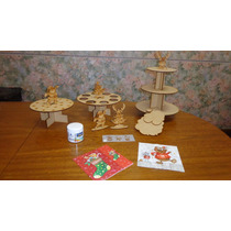 Decoración Mesa Dulce Navidad Promo Manualidades Navideñas