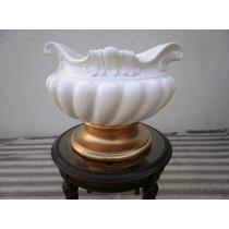 Gran Macetero Porcelana Muy Antiguo Comedor Sala Excelent