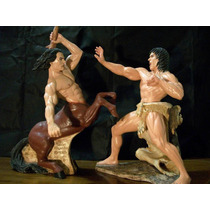 Combate Neso Y Hercules