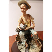 Escultura De Porcelana Style Capodimonte Cirrincione