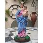 Imagen Virgen Del Rosario - Pieza Única - 40 Cm