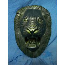 Máscara De León Metalizada