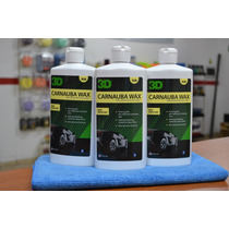 Cera Carnauba Wax Crema 3d Productos Teflon Acrilico