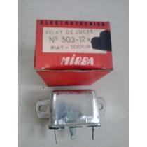 Relay De Luces Fiat 125-133-128 Mirba 503-12 Volts Original