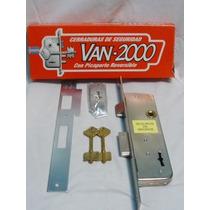 Cerradura Van Dos 550 Caja Angosta Ideal Para Rejas