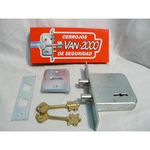 Cerrojo Van 2000 Modelo 819 2 Pasadores Garantia Factura C