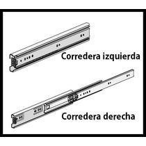 Correderas Telescopicas 50cm Para Cajon - Herrajes Nati