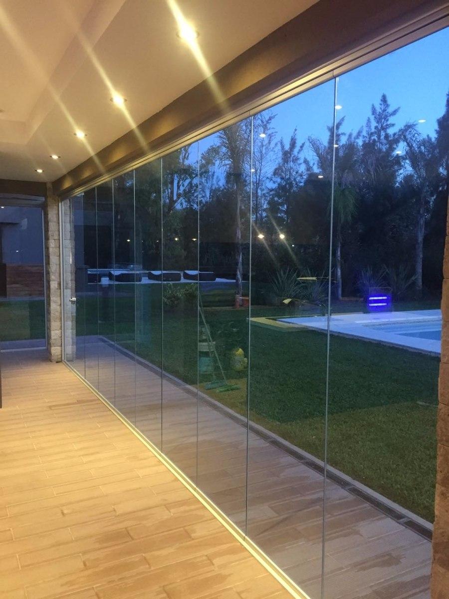 Cerramientos de vidrio y aluminio templados balcones for Cerramiento vidrio