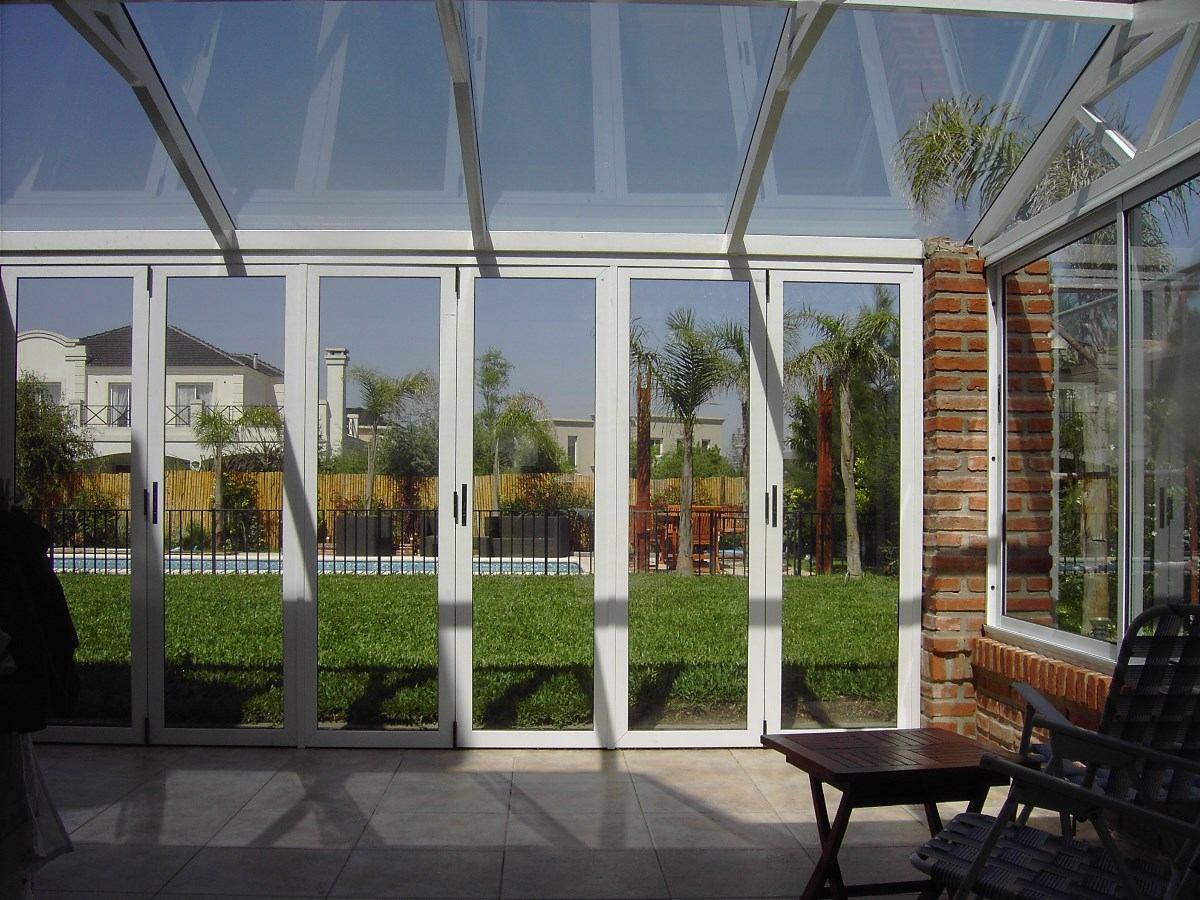 Pin puertas aluminio cerramientos fachadas vallas ventanas - Puertas para cerramientos ...