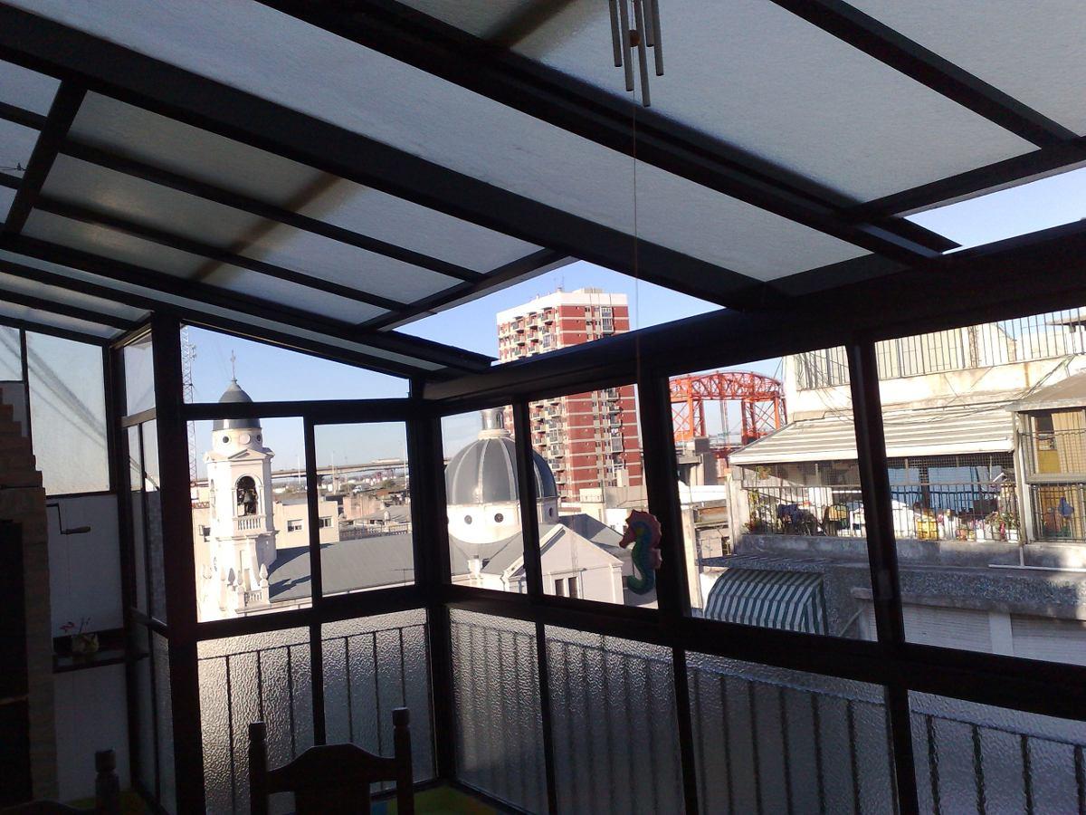 Cerramientos techos corredizos vidriados policarbonatos - Techos corredizos ...