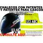 Chalecos Reglamentarios Con Patentes Y Patentes Para Cascos