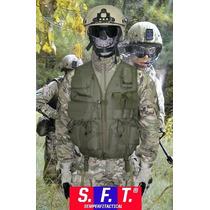 Chaleco Tactico Multiproposito Verde Semper Fi Tactical®