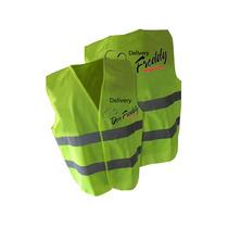 Chaleco Reflectivo Personalizado - Seguridad-delivery-promo