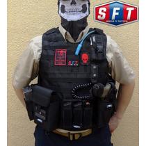Chaleco Táctico Funda Balistica Elite Molle+accesorios Sft®