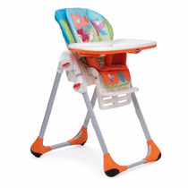 Silla De Comer Portatil Plegable 2 En 1 Bebe Chicco Polly