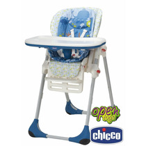 Silla Comer Alta Bebe Chicco Polly 2n1 / Open-toys Avellaned