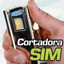 Cortador De Sim A Micro Sim P/ Iphone 4. P/ Ipad Oferta !!!!