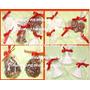 Bombonesy Figuras De Navidad Con Chocolate