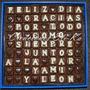 Día Del Padre ! Frases Personalizadas Con Bombones Rellenos