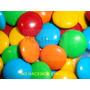 Confites Lentejas De Chocolate Tipo Rocklets X1kg Multicolor