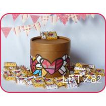 Lata + 60 Chocolates Personalizados (apto Celíacos)
