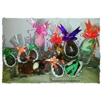 Huevos De Pascua De Chocolate Artesanales