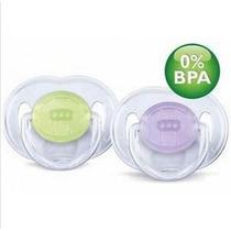 Chupete 6-18 Silicona Trans Bpa Free-avent-bebecity17022
