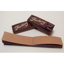 2 X Filro Tipo Librito Marca Smoking Brown X50u