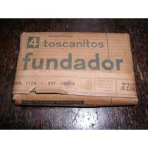 Antiguos Toscanitos Fundador Llenos Paquete Etiqueta Colecc