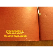 Billetera Doble Años 70 Cigarrillos Dunhill