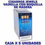 Cigarros Jewels Vainilla Con Tip De Madera-caja X 5 Unidades