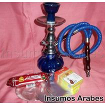 Arguile+regalos(tabaco+carbón+pinza) $279!!! Insumos Arabes