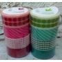 Cinta Washi Tape Packx4 1,9mmx4,4mts Scrapbook Souvenir
