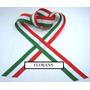 Cinta Bandera Italiana N*2 De 10mm X 40 Rollos De 10 Mts C/u