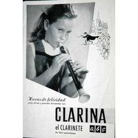 Manual Clarina El Clarinete A B C ( Muy Antiguo )