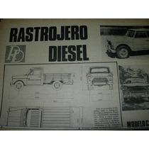 Clipping Mecanica Autos 3 Pg Rastrojero Diesel Industria Ime