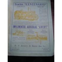 Cliping Tractor Centenario Publicidad Propaganda 34 X 27 Cm