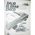 Publicidad Camiones Chevrolet C30 Salio El Gran Chico