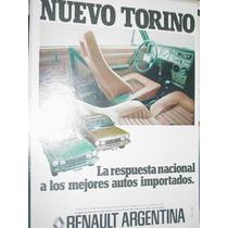 Publicidad Automoviles Torino Renault Respuesta Nacional