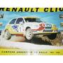 Renault Clio Campeon Argentino De Rally Poster Autos