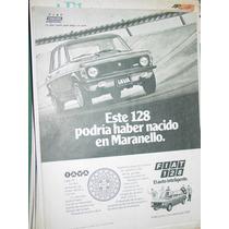 Publicidad Automoviles Fiat 128 Iava Haber Nacido Maranello