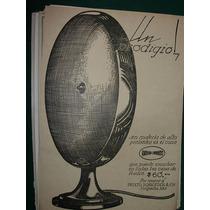 Clipping Antiguo Publicidad Parlantes Cono Radio Prieto