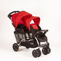 Coche Para Hermanitos Ultraligero Kiddy Duo - Children