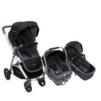 Babynet Coche Aluminio Premium Baby+huevito+base ( Modern )