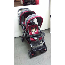 Coche Cuna Hermanitos Disney Mickey Minnie R&m Babies 3304