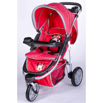 Coche Con Huevito Travel System Jogger Disney Baby 3 Ruedas