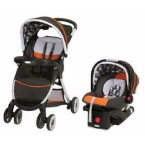 Coche Con Huevito Travel System Graco Rollins Fast Action