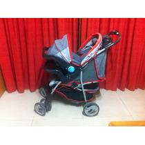 Cochecito Travel System Infanti Con Base Para Auto