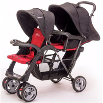 Cochecito Bebe Doble Para Hermanos Rainbow Twin 680