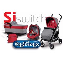 Cochecito Bebe Perego Si Switch Modular C/huevito Y Navetta